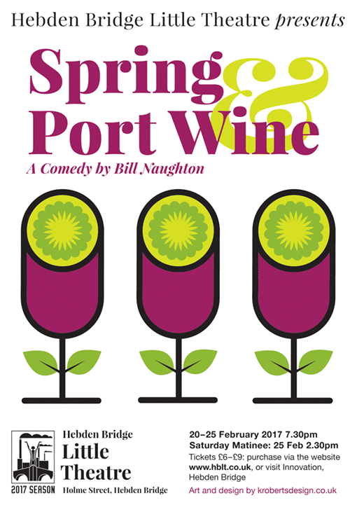 Spring and Port Wine - Rejected Design
