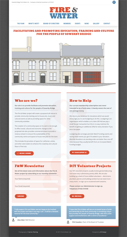 Fire & Water Ltd. - Home Page