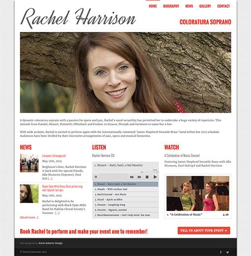 Rachel Harrison - Coloratura Soprano