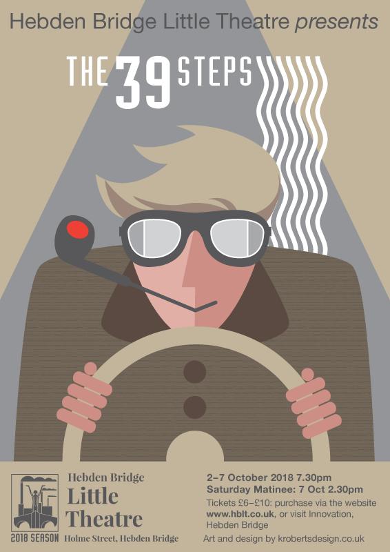 The 39 Steps - Rejected Design